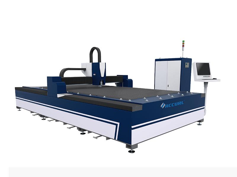 中國最著名的經濟型最便宜的QIGO光纖激光切割機切割金屬板價格
